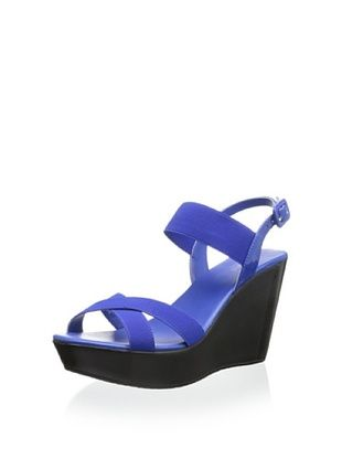 61% OFF Charles by Charles David Women's Riviera Wedge (Navy)