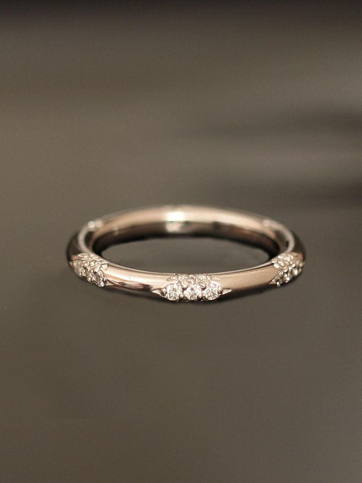 Diamond Wedding Band - I love mine, but this one is really beautiful! Would make a great anniversary band for say 15!! Coming up next year - now how to get this to my hubby!???!