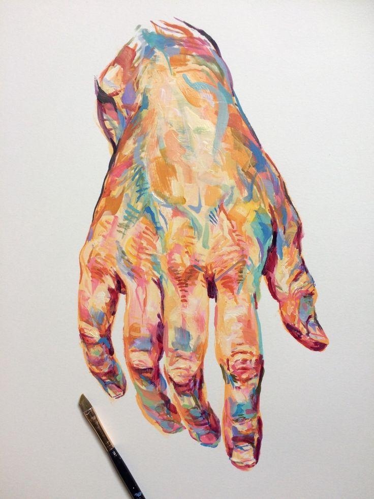 acrylic study