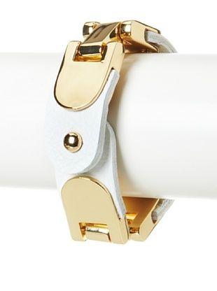 62% OFF CC Skye Maya Hinge White Bracelet