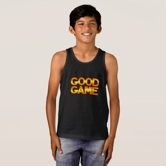 GG Kids' Bella+Canvas Jersey Tank Top