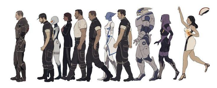 "ME art,Mass Effect,фэндомы,Shepard,Jeff ""Joker"" Moreau,EDI,Samantha Traynor,James Vega,Steve Cortez,Liara,Kaidan,Garrus,Tali,Diana Allers"