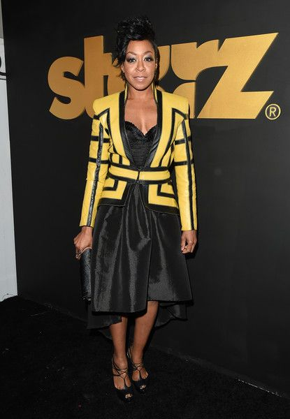 Tichina Arnold Photos Photos - Actress Tichina Arnold attends the STARZ Pre-Golden Globe Celebration at Chateau Marmont on January 8, 2016 in Los Angeles, California. - STARZ Pre-Golden Globe Celebration - Arrivals