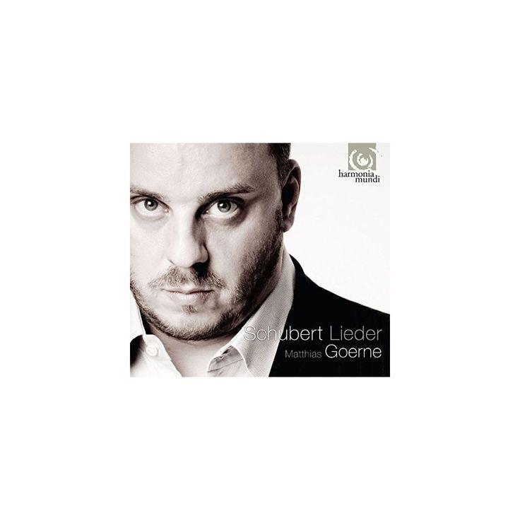 Schubert & Matthias Goerne - Lieder (CD)