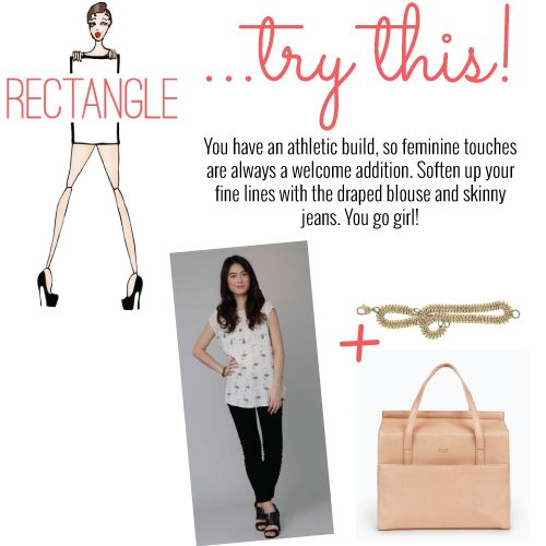 Calling all rectangles! Wear this...