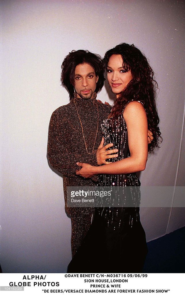 Syon House, Middlesex, Prince & Wife, 'De Beers/versace 'Diamonds Are Forever' Fashion Show, Prince The Singer