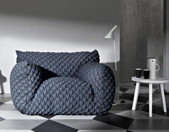 Looks SO comfy!   Nuvola 9 Armchair by Gervasoni
