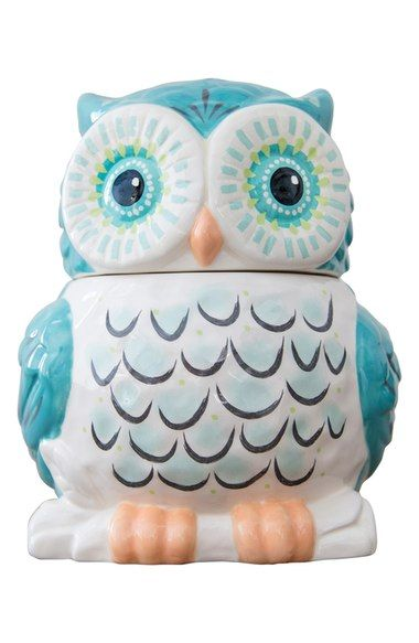 Natural Life Ceramic Owl Cookie Jar available at #Nordstrom