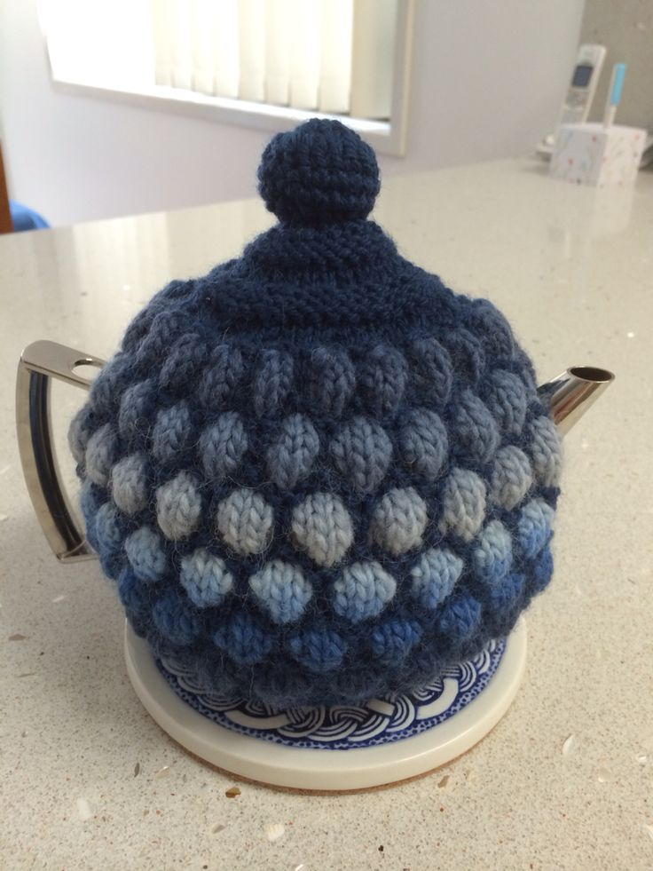 432 Best Tea Cozies Images On Pinterest Knitting Stitches Tea