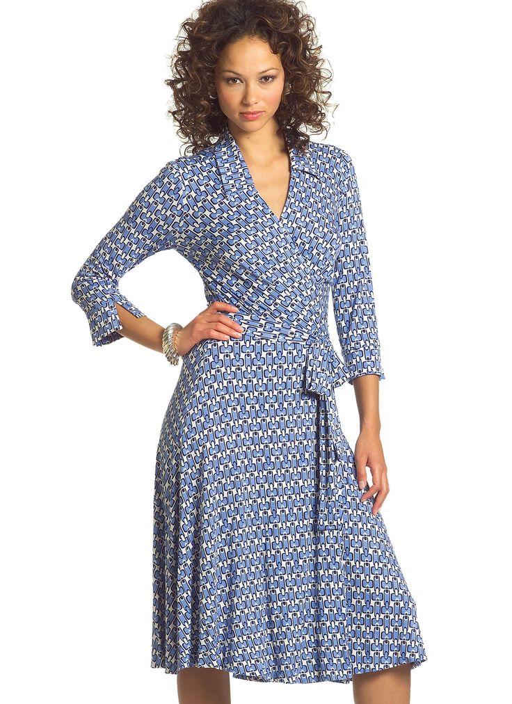 177 best Kleider Wickelkleider / Dresses with crossover front images ...