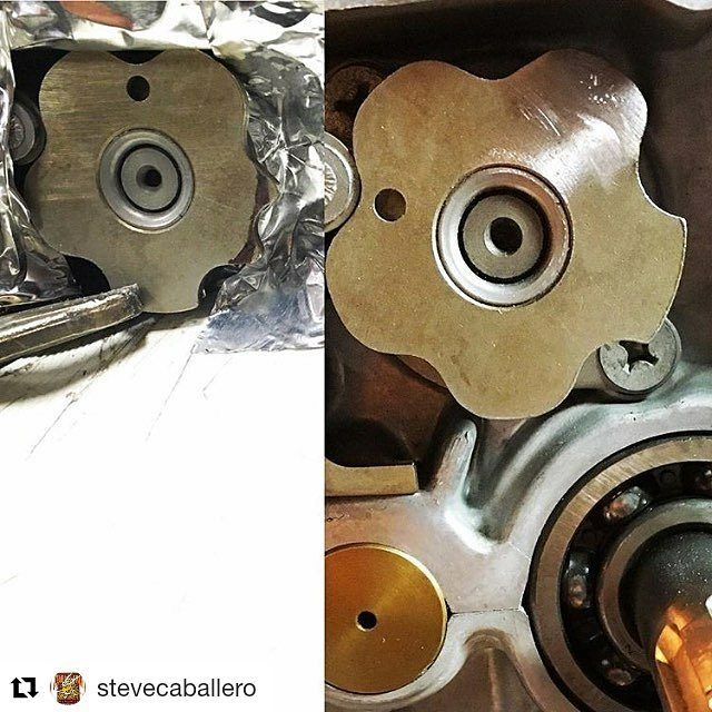 If your near denton texas make sure and come and check this bad boy out!! #Repost @stevecaballero (@get_repost)  Meanwhile... back in Denton Texas the clock is ticking and @davmomoto Is hammering things out one piece at a time. With less than two weeks till the Dec. 9th reveal of my @dentonmoto vintage 1969 Honda CL175 trackbike David my builder in Texas is still working on a couple of things. I really wanted a neutral lockout on the transmission so the shifting star neutral detente was…