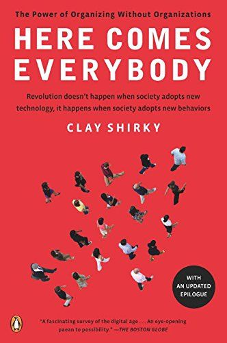 Here Comes Everybody: The Power of Organizing Without Organizations by Clay Shirky http://www.amazon.com/dp/0143114948/ref=cm_sw_r_pi_dp_kuORvb04H7068