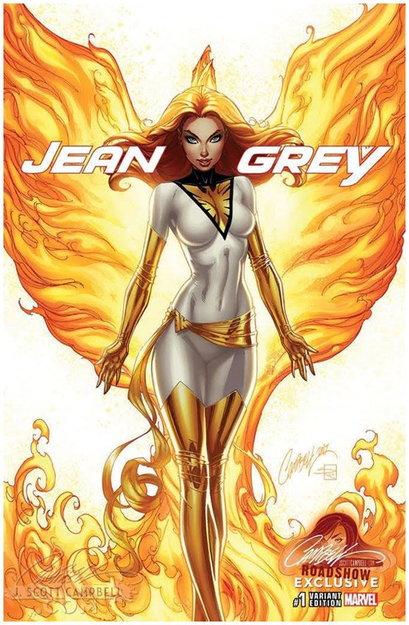 Jean Grey #1 J.Scott Campbell Roadshow Exclusive Edition D. Click the pic and find out more...