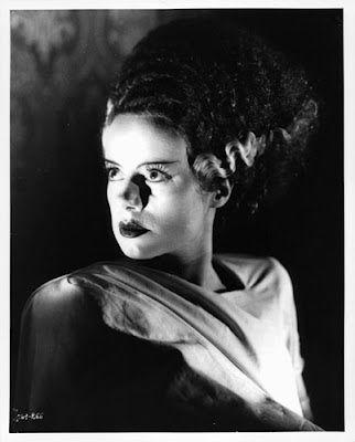"Vintage Glamour Girls: Elsa Lanchester in ""The Bride of Frankenstein"""