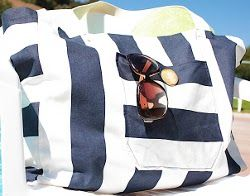 Best 25  Canvas beach bags ideas on Pinterest | Beach bag patterns ...