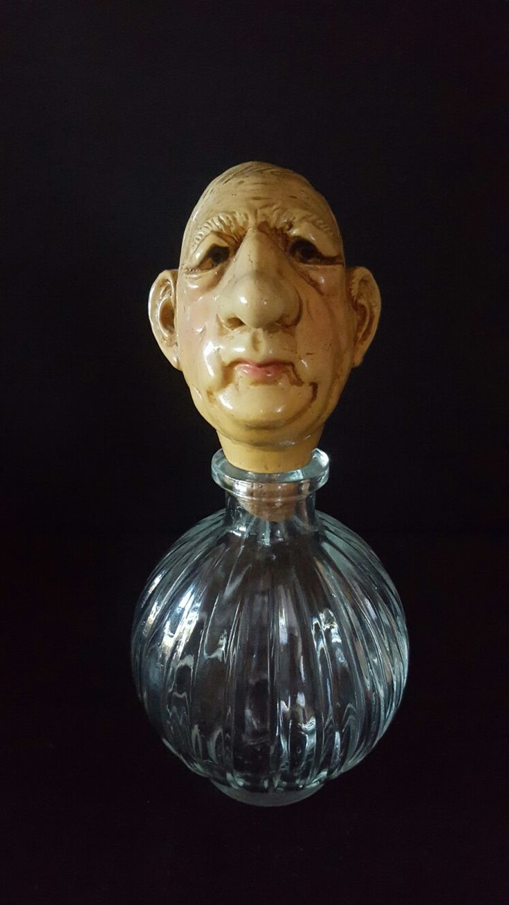 Rare charles de gaul ceramic bottle stopper - Modele depose
