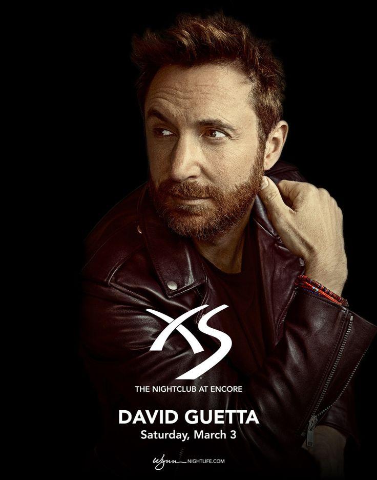XS PRESENTS: DAVID GUETTA Saturday, March 03, 2018