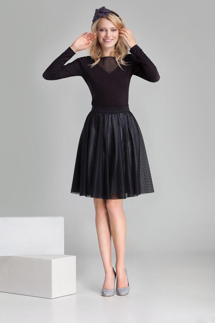 Nowa kolekcja #danhen #jesienzima2014 #fw2014 #fashion #girly #tiul #tulle #lookbook #stylizacja #czern