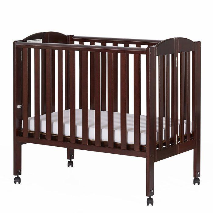 2 In 1 Portable Folding Convertible Mini Crib Portable Crib Cribs Mini Crib