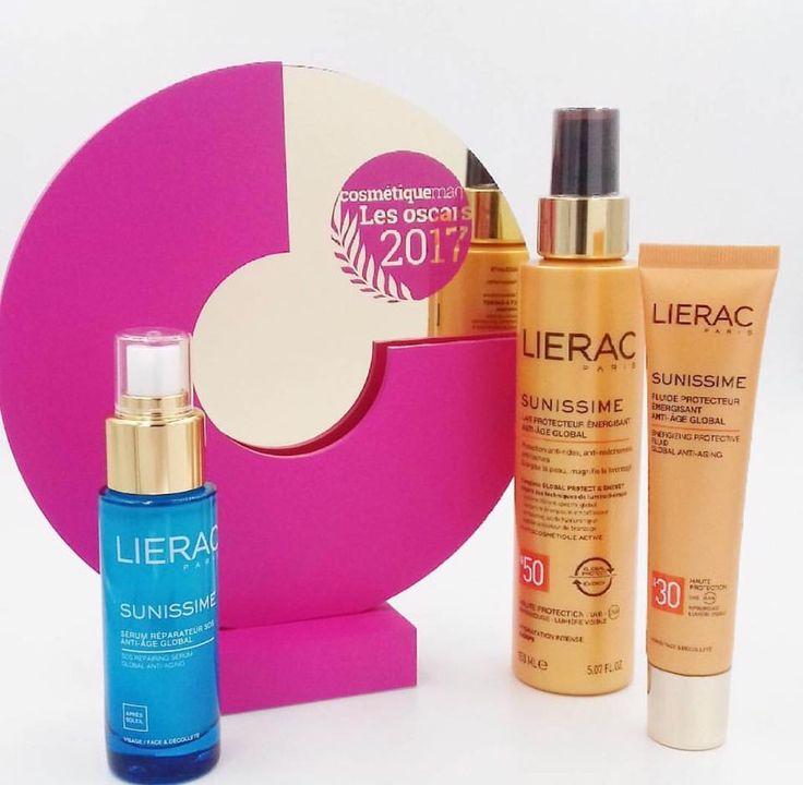 "H Lierac SUNISSIME, η απόλυτη αντηλιακή σειρά αντιγήρανσης, κατέκτησε το βραβείο ""Oscar Cosmetique Mag 2017"" στη Γαλλία! https://goo.gl/ZoXvoL"