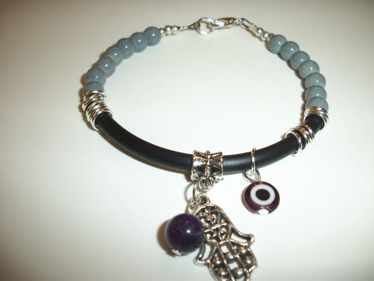Evil eye bracelets featuring the Hamsa hand, MANO DE FATIMA, OJO TURCO | eBay