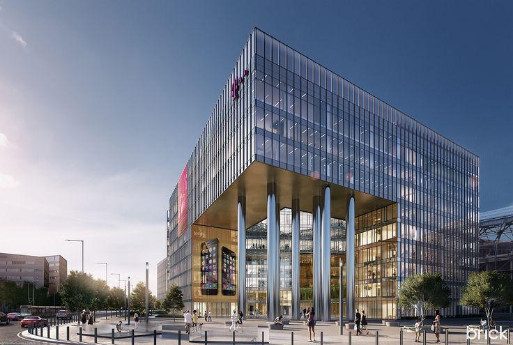 Telekom Office, Budapest on Behance