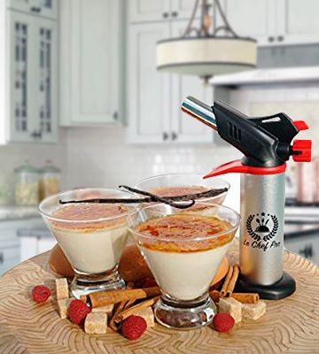 Le Chef #culinarytorch will become an indispensable #assistant in your #kitchen since you will be able to make any caramelized #desserts or crackle some meat. Moreover, the #appliance is totally safe.