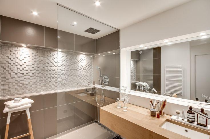 Hongos Azulejos Baño:baño con azulejos en colores nude #hogarhabitissimo #azulejos #baño