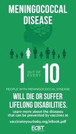 Every Child By Two Meningococcal Disease Infographic