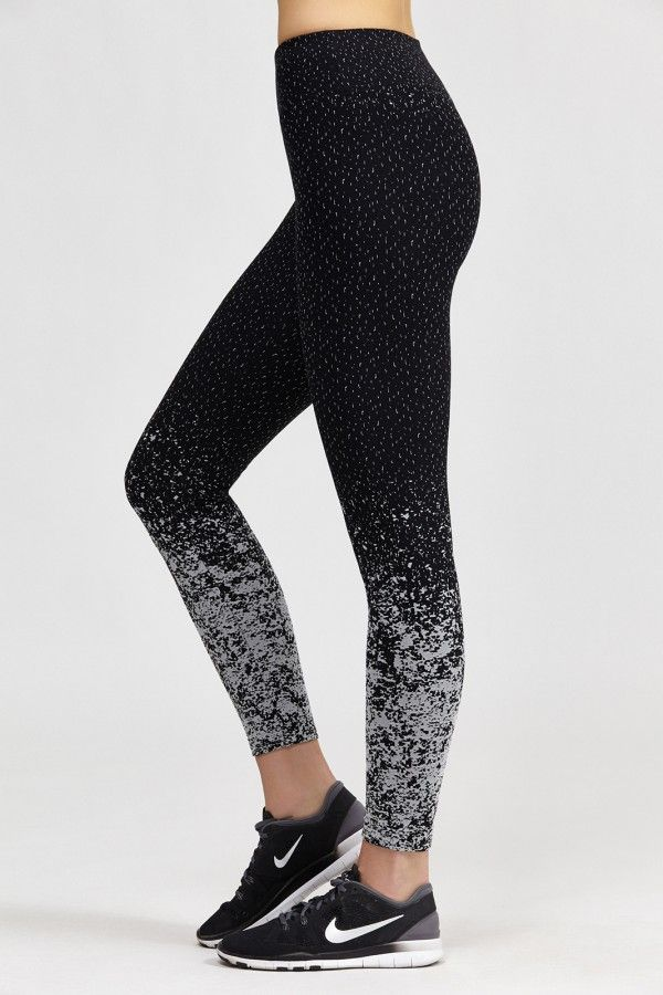 Pixelate Cropped Legging by Bandier