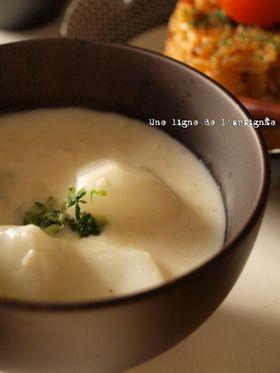 簡単!蕪とホタテ缶のクリームスープ。 by ∴nico [クックパッド ...