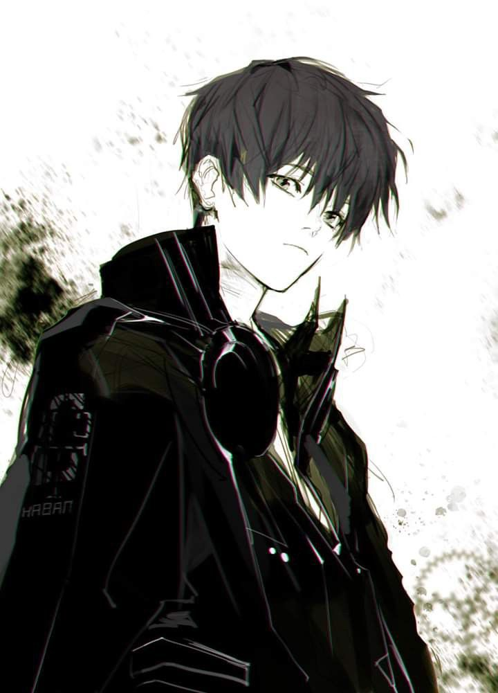 Pin By Little Billy On Drawings Cute Anime Guys Black Haired Anime Boy Dark Anime