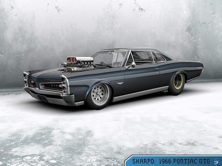 Pontiac GTO by Skullcandy1995.deviantart.com: Goats, Pontiac Gto, Hotrods Cars, Automotive Amazing, Classic Cars, Muscle Cars, Dream Cars, 1966 Pontiac, Hot Rods