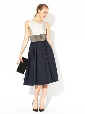 shop designers kate spade york pink pleated georgette dress