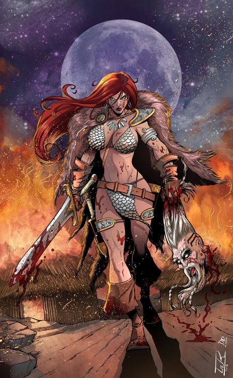 Red Sonja - David Garcia Cruz