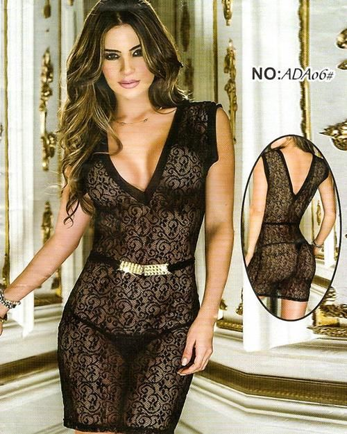 feff22166c Bridal Sexy Transparent Short Lace Nighty - ADA06 | Nighty ...
