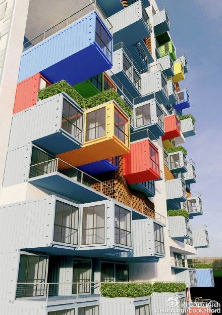 320 best Container architecture images on Pinterest Container - best of blueprint container house
