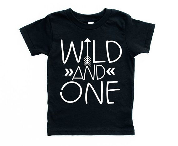 first birthday shirt, Wild and one,birthday shirt, ONE, arrow shirt, wild child, 1st birthday outfit, boy birthday, bday, girl, any number