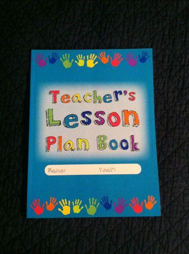 Lot of 1 Teacher's Lesson Plan Book for Teachers Daycares Homeschoolers   eBay