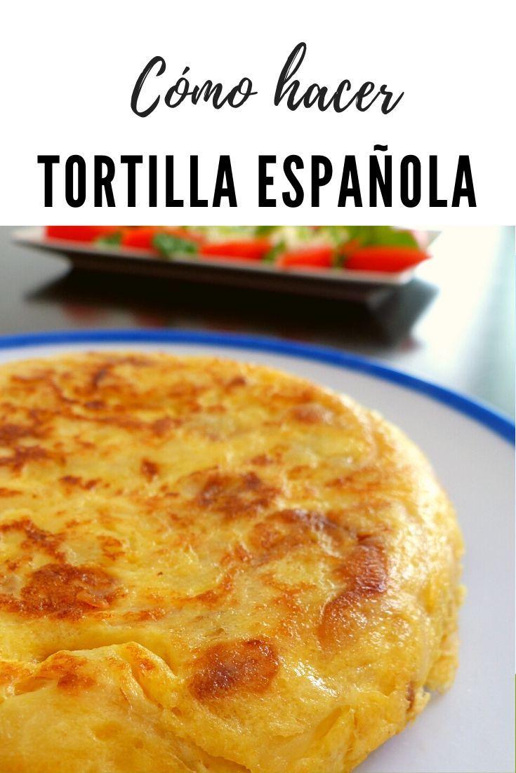 Cómo Hacer Tortilla Española Todos Los Trucos Y Secretos Al Descubierto Recetas De Comida Fáciles Recetas De Comida Recetas Comida Rapida