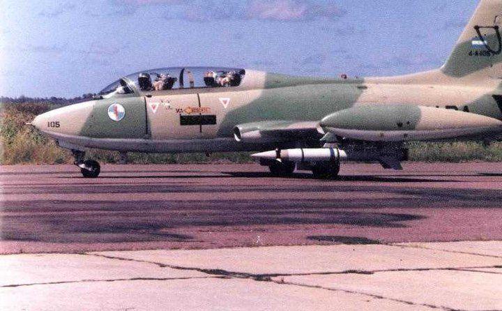 AERMACCHI MB-326 with Martin Pescador