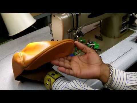 ▶ How To Make A Leather Flat Cap - YouTube