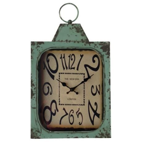 "Cooper Classics Stasia 19"" High Eclectic Wall Clock -"