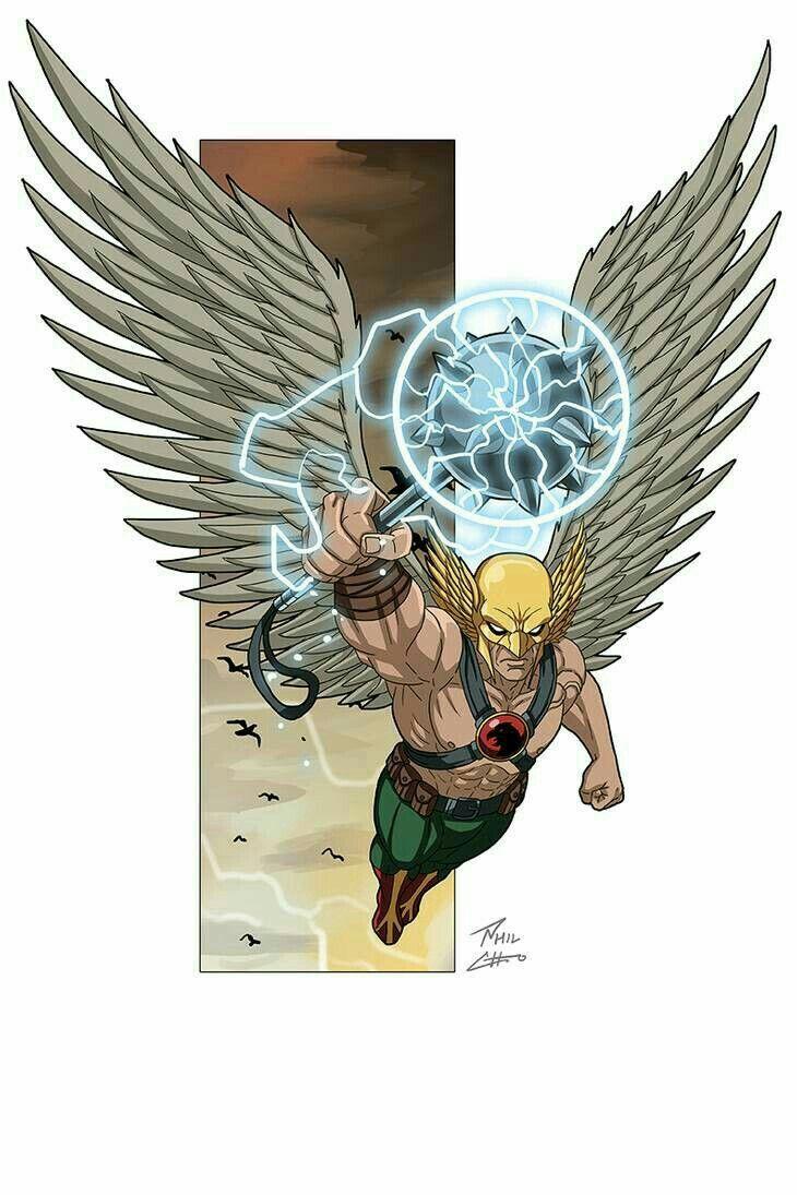 Hawkman Commission Phil Cho In 2020 Dc Comics Wallpaper Hawkman Dc Comics Characters