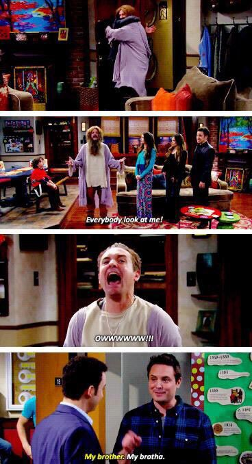 Plays with squirrels!!! The kids who watch Girl Meets World have no idea how funny it is when they bring back flashbacks like this.