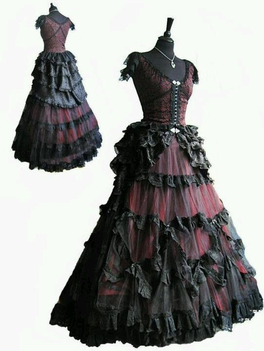 I do want step sister's dress to be fancy because of her social status but don't want to veil Cinderella's clean simple dress so I decided to choose a toned down color but fancy shape