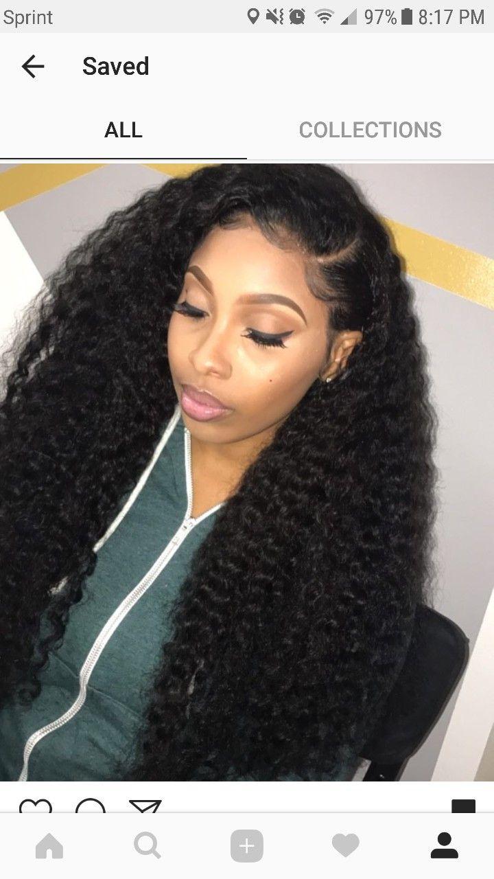 woollffiie   hair❤️ in 2019   hair, curly hair styles