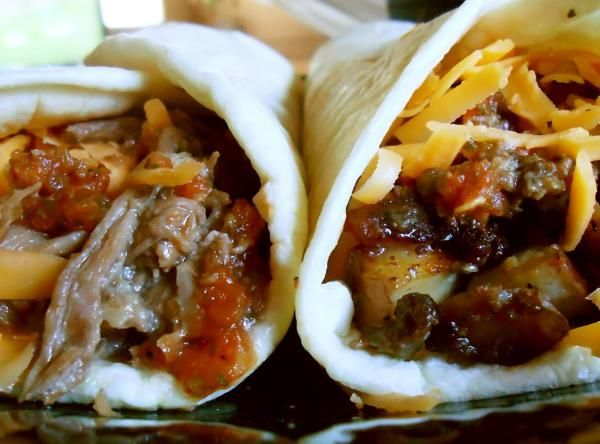 Burrito Shop Brisket And Meat & Potato Burritos Recipe