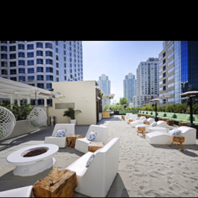 W Hotel San Go Rooftop Beach Bar Favorite Places Es In 2018 Pinterest Hotels And Pet Friendly