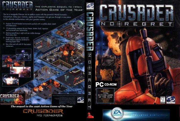 DumeeGamer.com - Crusader: No Remorse & No Regret #gaming #gamer #crusader #noregret #pcgaming #videogames #oldschool #retrogaming